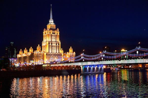 MOSKVAS LYXHOTELL: RADISSON ROYAL HOTEL