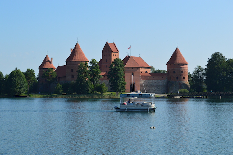 Trakai – jaktslottet som blev en stad