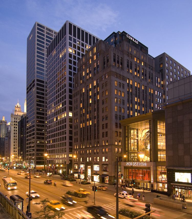 HOTELL I CHICAGO: THE CONRAD