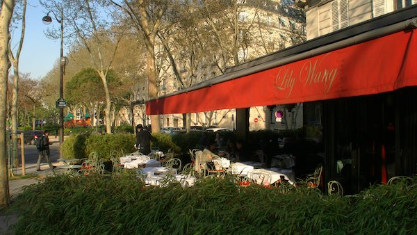 PARIS RESTAURANGER: LILY WANG