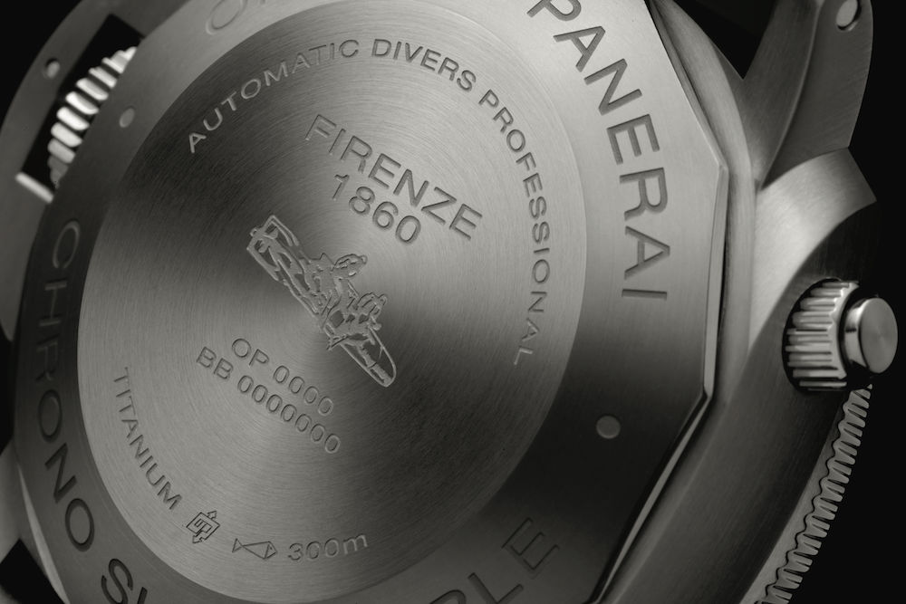 OFFICINE PANERAI: LUMINOR SUBMERSIBLE 1950