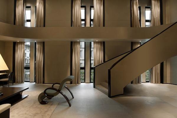 MILANOS HOTELL: ARMANI