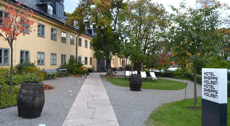 HOTELL I STOCKHOLM: HOTEL SKEPPSHOLMEN