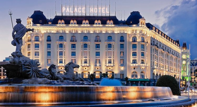 MADRIDS BÄSTA HOTELL: THE WESTIN PALACE